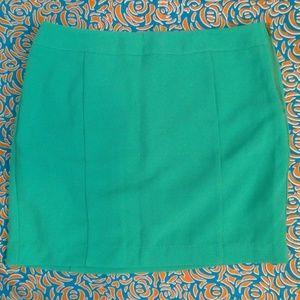 New Teal Mini Skirt
